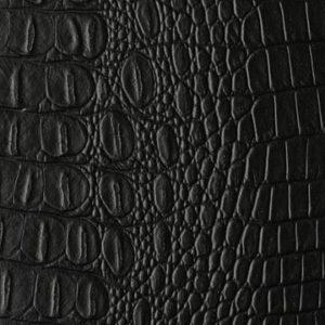 crock-matt-black-faux-crocodile-leather