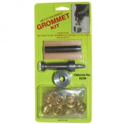 No. K234 - Carded Grommet Kit - BRASS