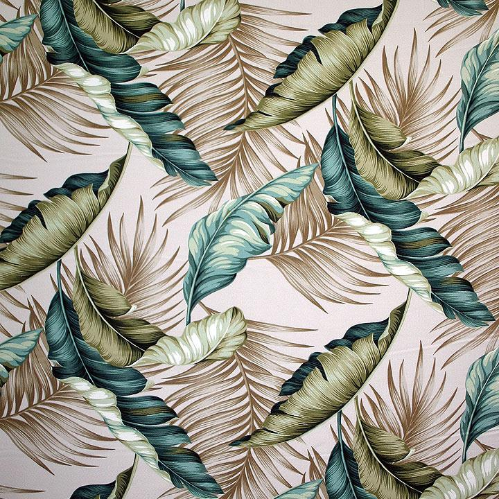 Banana Leaf Natural – Barkcloth