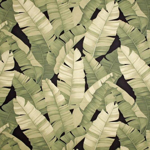 Manele Black Olive – Barkcloth