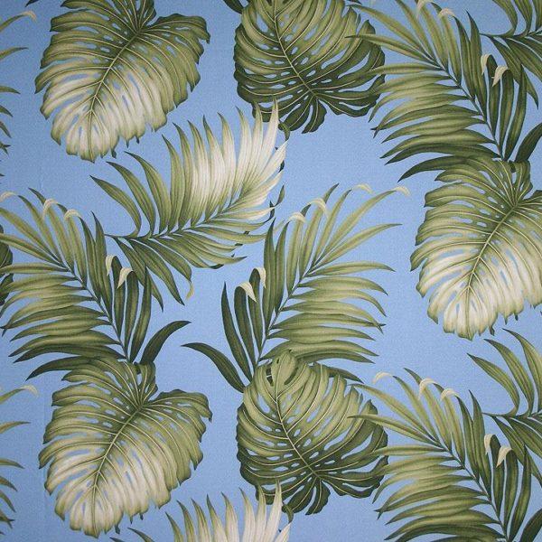 Oasis Slate – Barkcloth