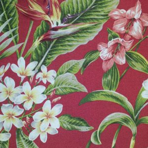 Pali Cherry – Barkcloth