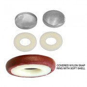 No. 30 Combo - Nylon Snap Rings with Soft Shells