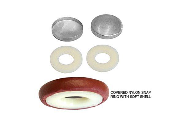 No. 30 Combo - Nylon Snap Rings with Soft Shells