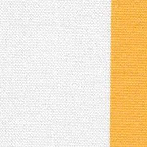 Yellow 2.5 Inch Stripe - Sunfield 100% Solution Dyed Acrylic