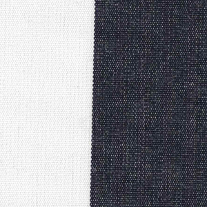 Navy 2 Inch Stripe - Sunfield 100% Solution Dyed Acrylic