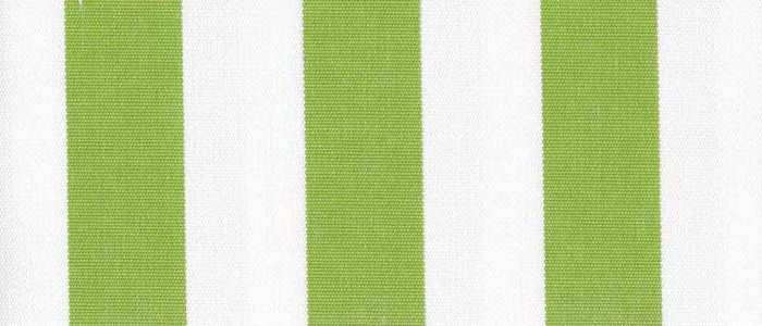 Lime 1 Inch Stripe - Sunfield 100% Solution Dyed Acrylic