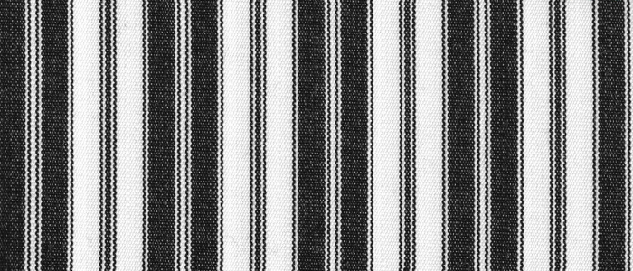 Black Pinstripe - Sunfield 100% Solution Dyed Acrylic