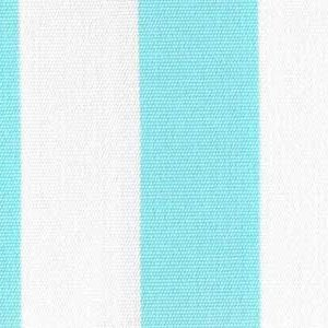 Sky Blue 1 Inch Stripe - Sunfield 100% Solution Dyed Acrylic